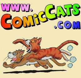 ComicCats.com T-shirt