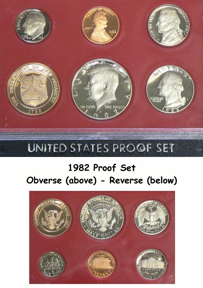 U S Proof Coin Sets 1950 To 1997 Cheap Deep Discount Prices