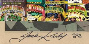 Captain Victory - Jack Kirby autograph 2
