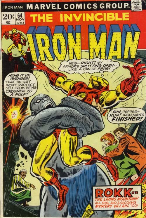 Iron Man 163 N S 7 0 1982