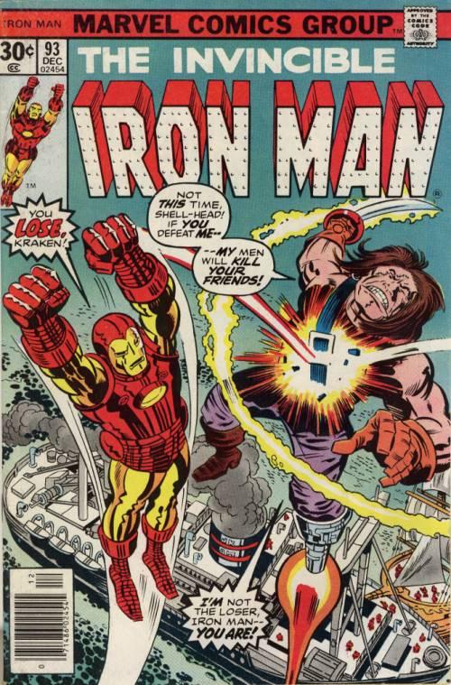 Iron Man 93 Dec 1976
