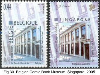 Belgian Comic Book Museum, Singapore, 2005
