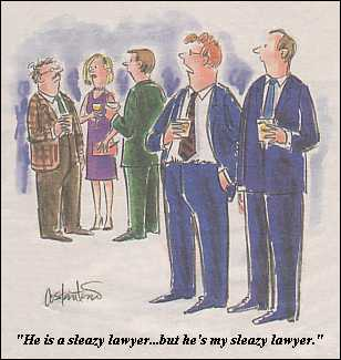 Sleazy Lawyer