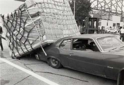 Overloaded Pontiac Ventura