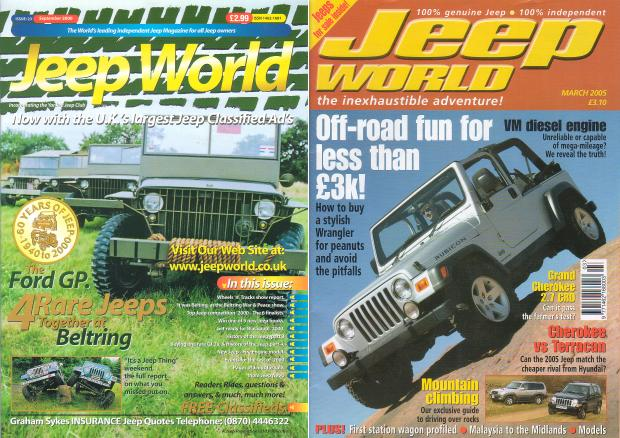 Jeep world magazine
