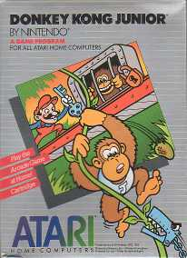 Atari Donkey Kong Jr Game