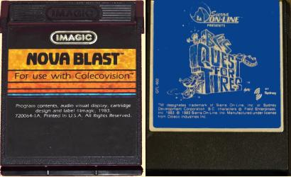 Coleco Nova Blast, BC Quest for Tires