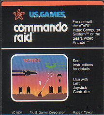 Atari 2600 Video Game cartridge
