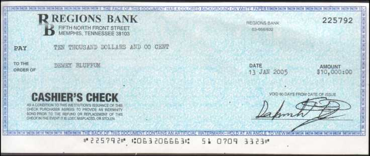 joke cheque template - car auto truck buying scam how it works a real life