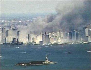 where was god on  wtc burning lower manhattan