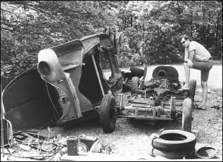 Building a VW-based Dune Buggy in 1967
