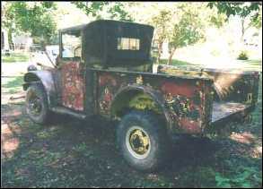 Restoration of a 1963 Dodge M37 military utility truck on