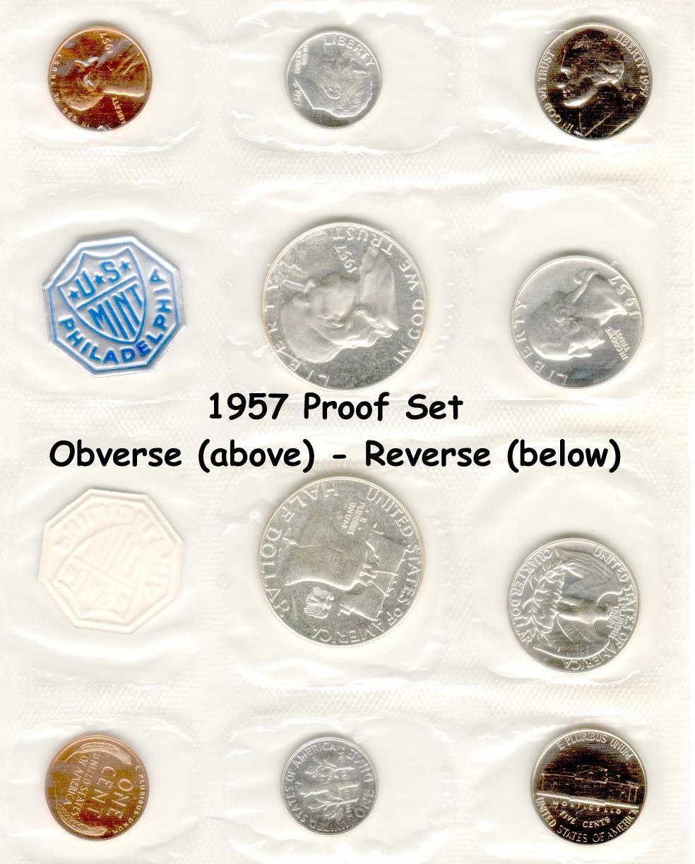 1962 US Mint Silver Proof Set Gem Coins **SEALED**