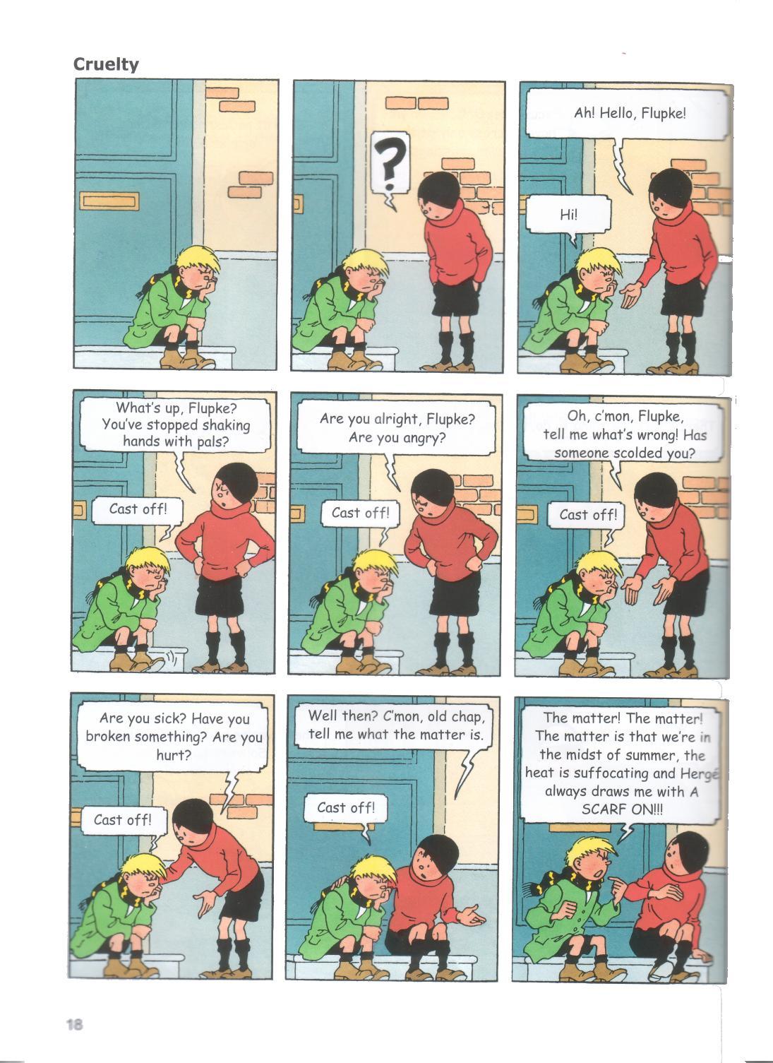 13 Cameos Of Herge, Tintin, Quick & Flupke, Mr. Mops